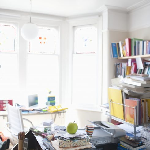 10 Steps to Creating and Keeping a Clutter-Free Home Office